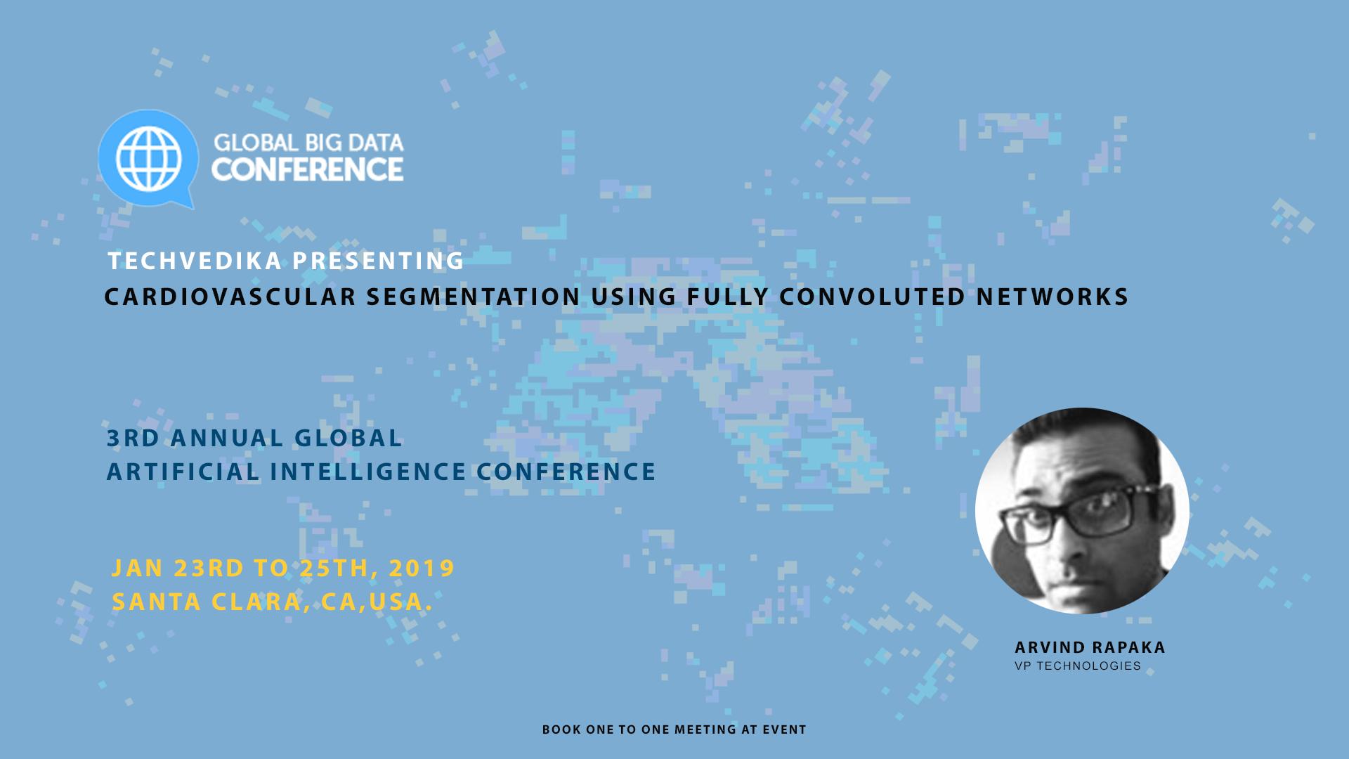Tech Vedika At The Global Big Data Conference