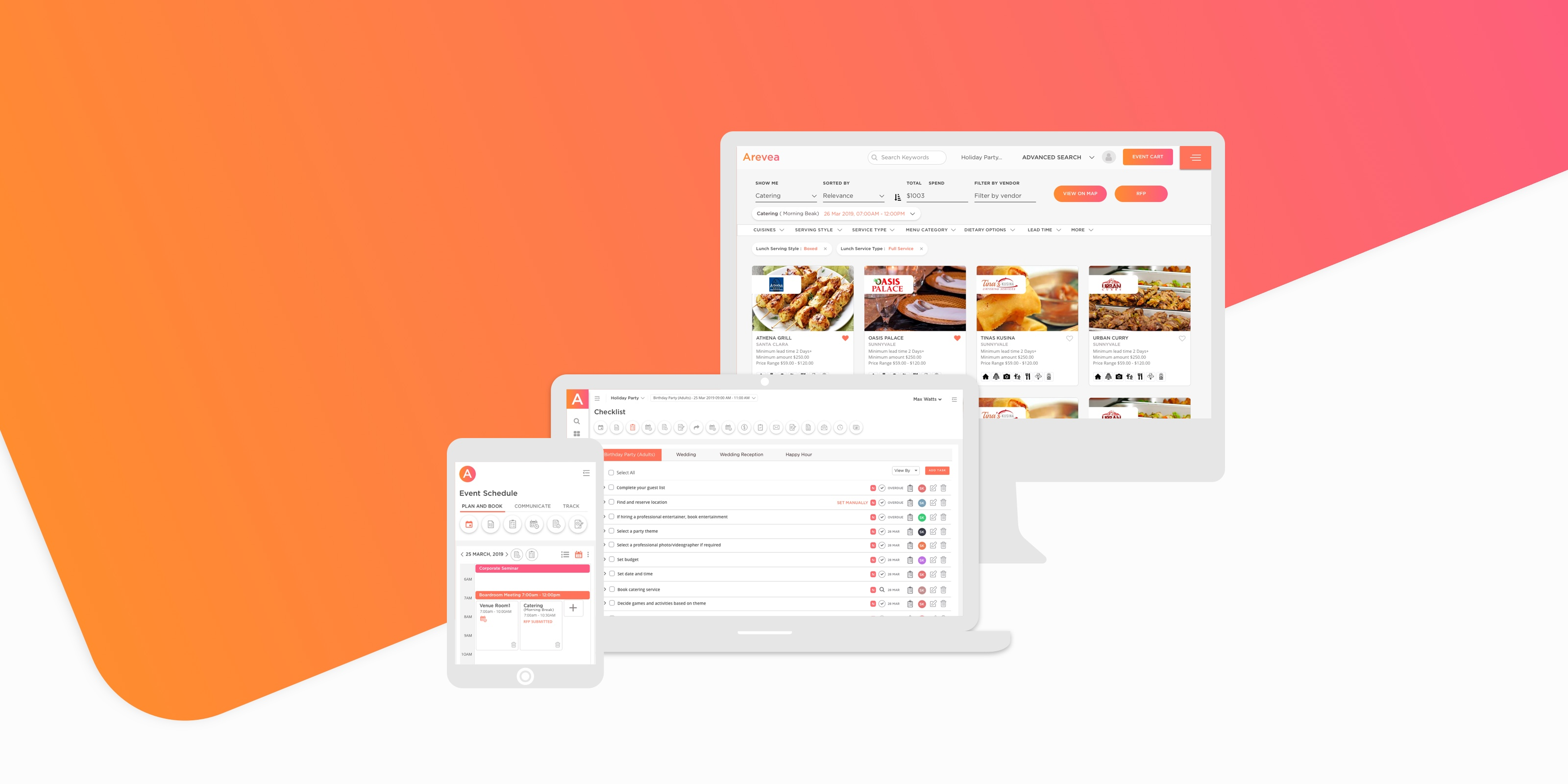 Arevea – an All-In-One Event Management Platform