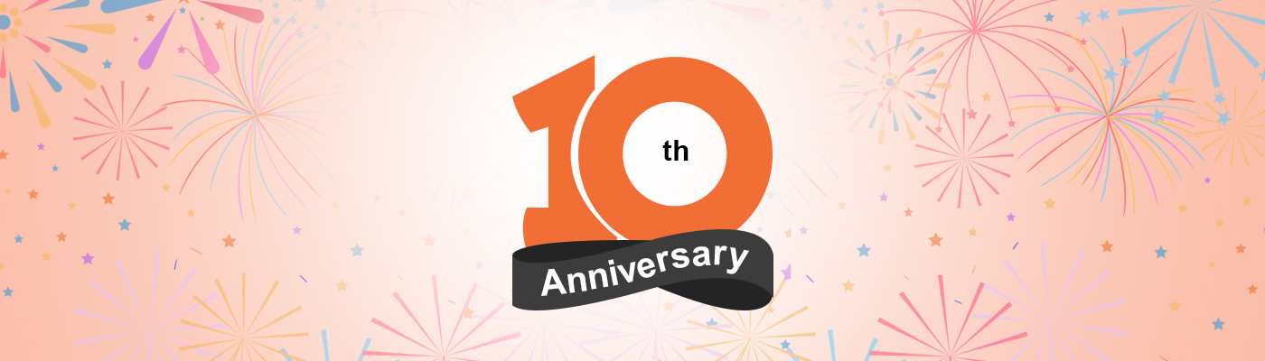 Yes, We Turned 10…!!!